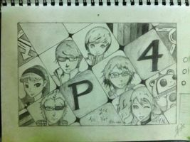 persona 4 by thiphobia