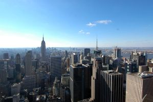 Manhattan Panorama by d1rtyw0rm