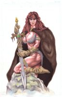 red sonja's new sword by skillman