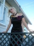 Lady rose at the balcony 15 by gsdark-stock
