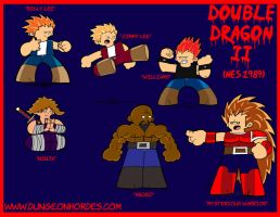 Double Dragon Tribute by Epicspiderboss