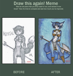 Before and After Meme - Krystal by MissSeras