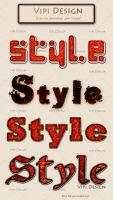 Styles for photoshop Red Grunge by elixa-geg