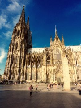 Cologne Cathedral by yanness