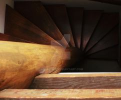 Slices of Stair by Alana-Lyn