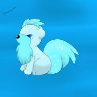 Harord the growlithe by snowflake95