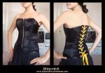 Black widow corset by skinywitch