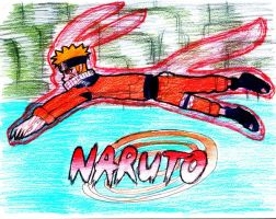 9 Tailed Naruto by Shaylex