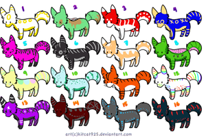 Wolf Adopts by Wolfies--Adopts