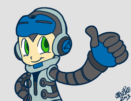 Mighty No. 9 by TuxedoMoroboshi