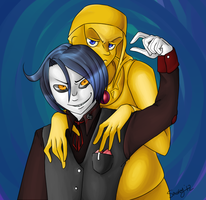 Skully and Stephano by Smokeybred