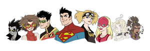 Actual Young Justice by Jeanbiscuit