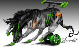 Ken Block Drift Horse by Tigra1988