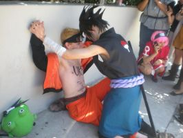AX 09: SasuNaru pinned down by Garra4evr