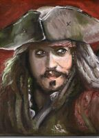 Captain Jack Sparrow by KathyPhantomhive