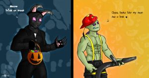 Halloweenies by Ted-Drakness