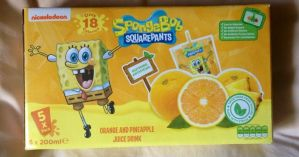 Spongebob Carton Drinks by extraphotos