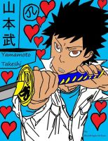 KHR his best name is Yamamoto Takeshi by Bluedragoncartoon