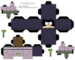 Mysterion - Cubee by Alessoo
