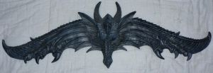 Dragon wall ... thing - 1 by Deaths-stock