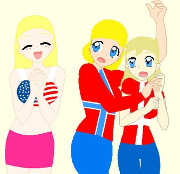 Crazy American Fangirl by ABtheButterfly