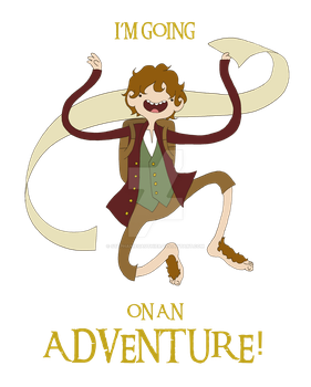 It's time for Bilbo to go ON AN ADVENTURE! by StephanieGauthier