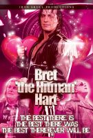 WWE BRET HART poster by TheIronSkull