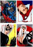Spider-man Archives cards by artguyNJ