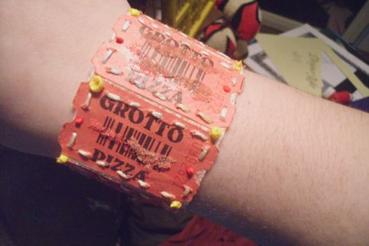 TICKETED upcycle bracelet 3 by LaLa-Lily