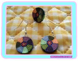 colorful set by cuca-factory