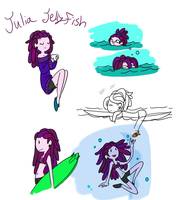 Julia Jellyfish by TheLittlehoneybee