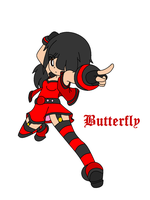 Butterfly - New OC - PPGG by MimiCuteGirl