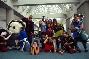 SDCC - ATLA spoof by rashaka