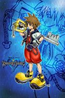 Kingdom Hearts: Sora by AngelCrusher