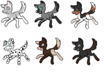 puppy adopts by Blackstar1202