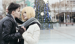 Yuri!!! on ICE cosplay: Otayuri by DAIxSORA
