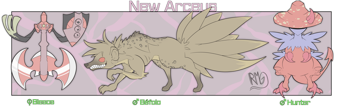 ADOPTABLES PKM (NEW ARCEUS) Pack 2 by RocketGamma