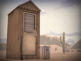 Outhouse by The-Great-Fusilli