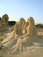 Sand art in burgas 18 by tonev