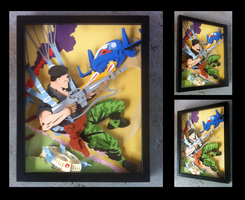 Commission:  GI-Joe Cover 54 Shadowbox by The-Paper-Pony
