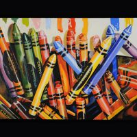 180 Study After Audrey Flack's Crayola by DABECKER53