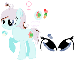 cotton candy ref sheet(for aubry) by thorad11