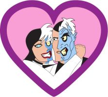 Request - Two Face and Harriet Romantic by March90