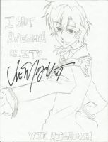 Signed Tamaki picture by PlottingYourDemise