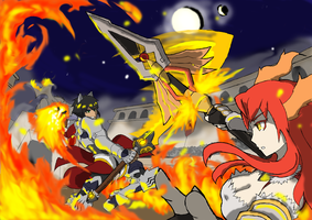 AV Rd 3: Dueling Flames by ACSigma