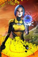 borderlands 2 maya by lupoxvector