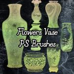 Flower Vase Brushes by petermarge