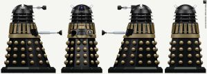 Time War Supreme Dalek by Librarian-bot