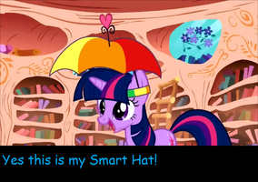 Twilight Sparkle Smart hat by DurpyHoofs