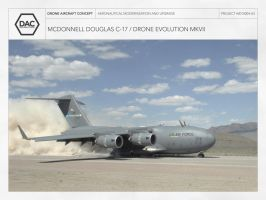C-17 / Drone Evolution MKVII by droneaircraftconcept